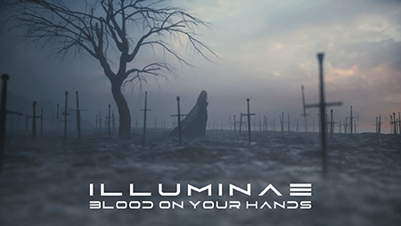 ILLUMINAE BLOOD ON YOUR HANDS COVER